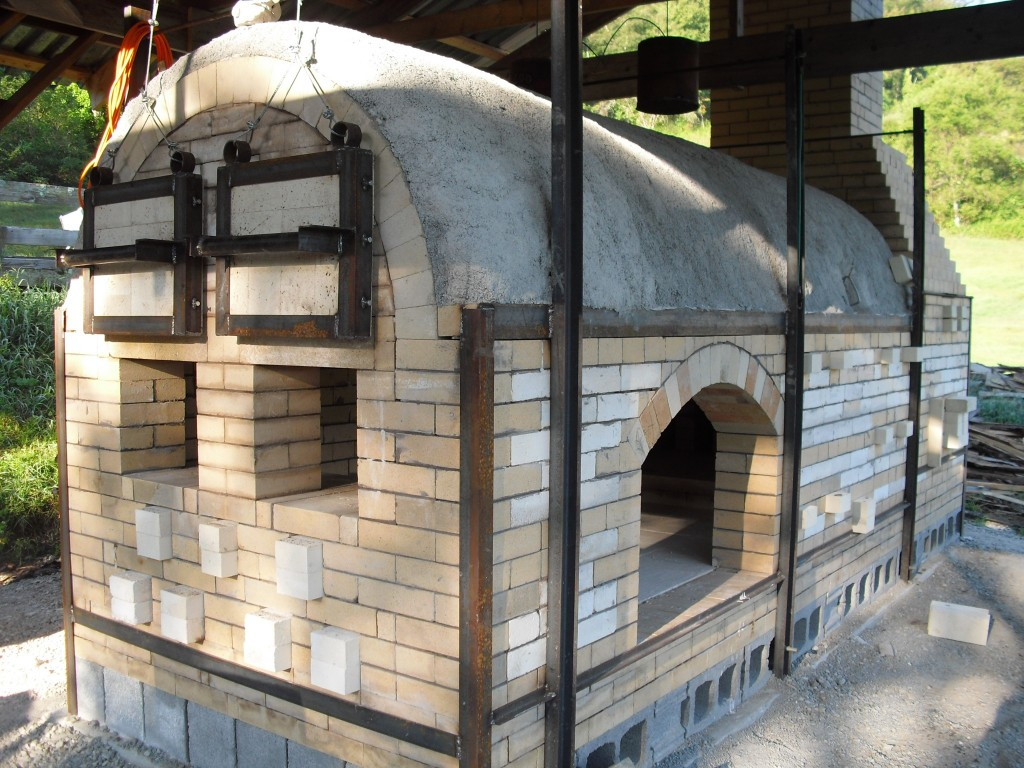 Woodfired Kiln for Anagama Ceramics